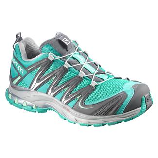 Salomon XA Pro 3D Teal Blue / Dark Cloud / Lucite Green