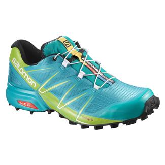 Salomon Speedcross Pro Teal Blue F / Granny Green / White