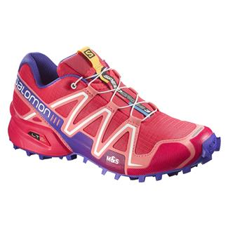 Salomon Speedcross 3 Papaya-B / Melon Bloom / Spectrum Blue