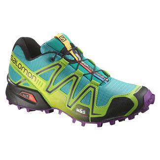Salomon Speedcross 3 Teal Blue / Granny Green / Passion Purple