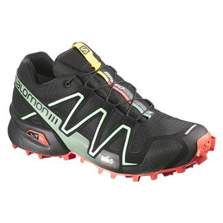 Salomon Speedcross 3 Black / Nectarine / Lichen Green