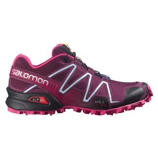 Salomon Speedcross 3 Bordeaux / Hot Pink / Lotus Pink