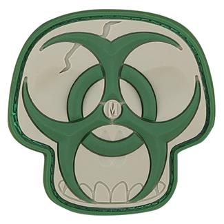 Maxpedition Biohazard Skull Patch Arid