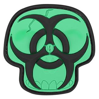 Maxpedition Biohazard Skull Patch Glow