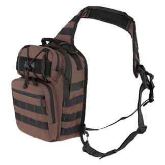Maxpedition Lunada Gearslinger Dark Brown
