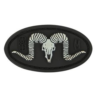 Maxpedition Ram Skull Patch Glow