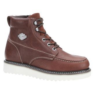 "Harley Davidson Footwear 6"" Beau Rust"