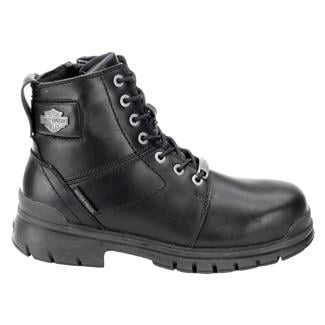 Harley Davidson Footwear Gage CT SZ WP Black