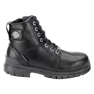 Harley Davidson Footwear Gage CT SZ WP Black