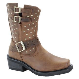 Harley Davidson Footwear Shirley SZ Brown