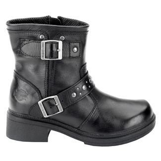 Harley Davidson Footwear London SZ Black