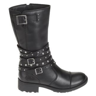 Harley Davidson Footwear Kennedy SZ Black