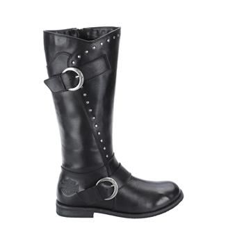 Harley Davidson Footwear Sapphire SZ Black