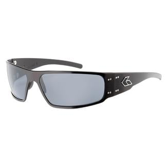 Gatorz Magnum Black (frame) - Gray Polarized (lens)