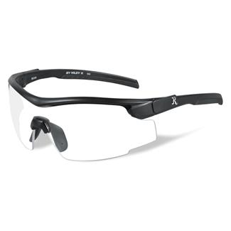 Wiley X Remington Platinum Grade Shooting and Hunting 1 Lens Matte Black Clear