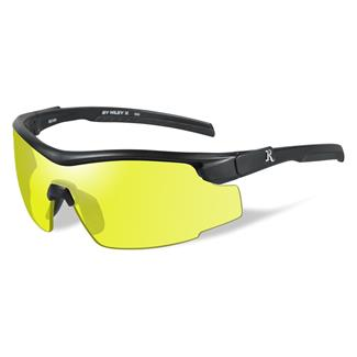 Wiley X Remington Platinum Grade Shooting and Hunting Matte Black 1 Lens Yellow