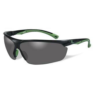 Wiley X Remington Industrial Matte Black / Green (frame) - Smoke (lens)