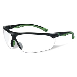 Wiley X Remington Industrial Matte Black / Green (frame) - Clear (lens)