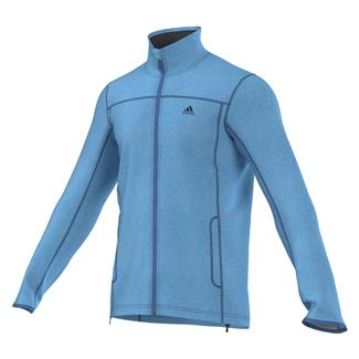 Adidas Panto Fleece Jacket Super Blue