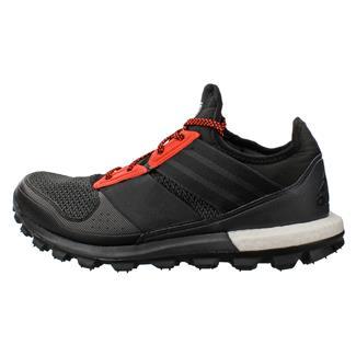 Adidas Response Trail Boost Black / Black / Solar Red