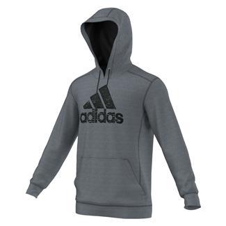 Adidas Ultimate Logo Hoodies DGH Solid Gray / Black