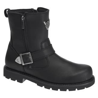Harley Davidson Footwear Flagstone SZ Black