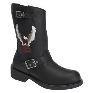 Harley Davidson Footwear Jerry Black