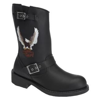 Harley Davidson Footwear Jerry Black