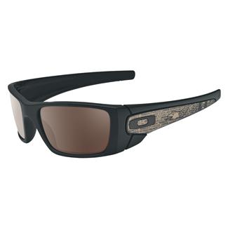 Oakley SI Fuel Cell American Heritage Matte Black (frame) - Warm Gray (lens)