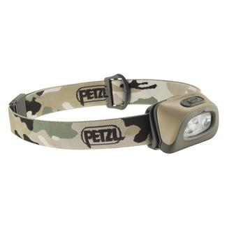 Petzl Tactikka 2 Plus RGB Headlamp Camo White / Red / Green / Blue