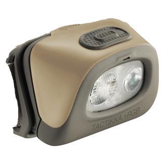 Petzl Tactikka 2 Plus Headlamp Without Headband Black White / Red
