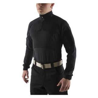 Massif Advanced 1/4 Zip Combat Shirt Black