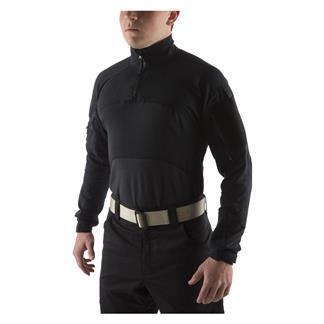 Massif Advanced 1/4 Zip Combat Shirt Black