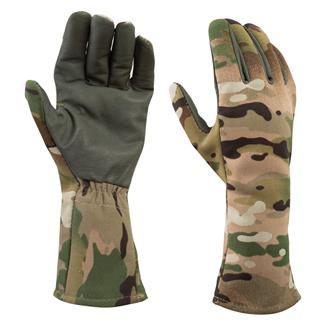 Massif Battleshield X Cold Weather Flight Gloves MultiCam