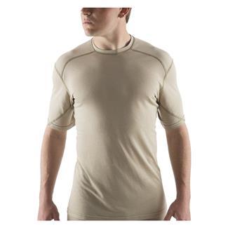 Massif Nitro Knit T-Shirt Tan