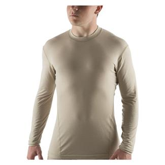 Massif Long Sleeve Nitro Knit T-Shirt Tan