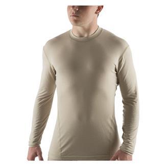 Massif Long Sleeve Nitro Knit T-Shirt Tan