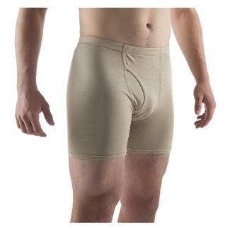Massif Nitro Knit Boxer Briefs Tan