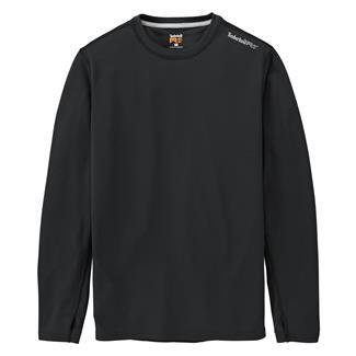 Timberland PRO Workwear Long Sleeve Wicking Good T-Shirt Jet Black