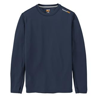Timberland PRO Long Sleeve Wicking Good T-Shirt Dark Navy