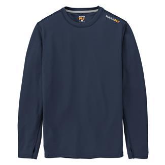 Timberland PRO Workwear Long Sleeve Wicking Good T-Shirt Dark Navy