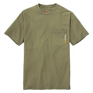 Timberland PRO Base Plate Blended T-Shirt Burnt Olive