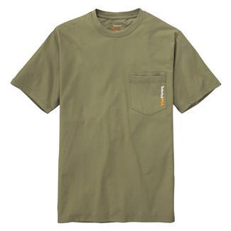 Timberland PRO Workwear Base Plate Blended T-Shirt Burnt Olive