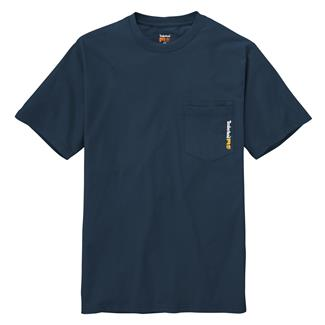 Timberland PRO Base Plate Blended T-Shirt Navy
