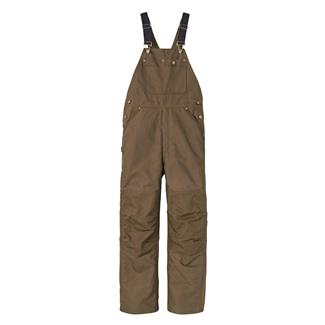 Timberland PRO Gut-Check Insulated Bib Overalls Dark Brown