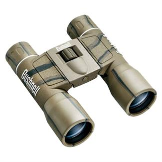 Bushnell PowerView Roof Prism 16x 32mm Binoculars Camo