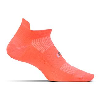 Feetures! High Performance 2.0 Ultra Light No Show Tab Socks Coral
