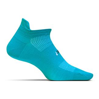 Feetures! High Performance 2.0 Ultra Light No Show Tab Socks Aqua