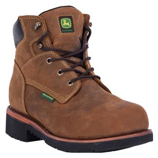 "John Deere 6"" Waterproof ST Brown"