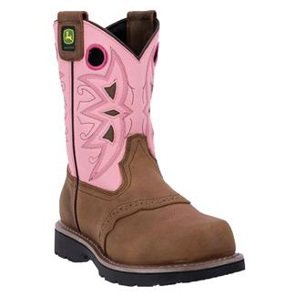 "John Deere 9"" Western Cypress / Pink"